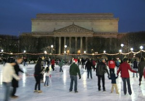 National Sculpture Gallery Ice Rink