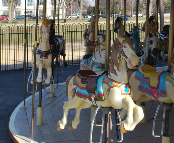 Smithsonian Castle Carousel