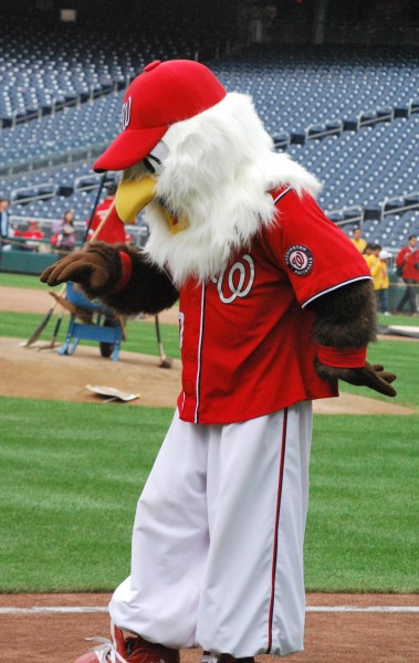 Washington Nationals Mascot